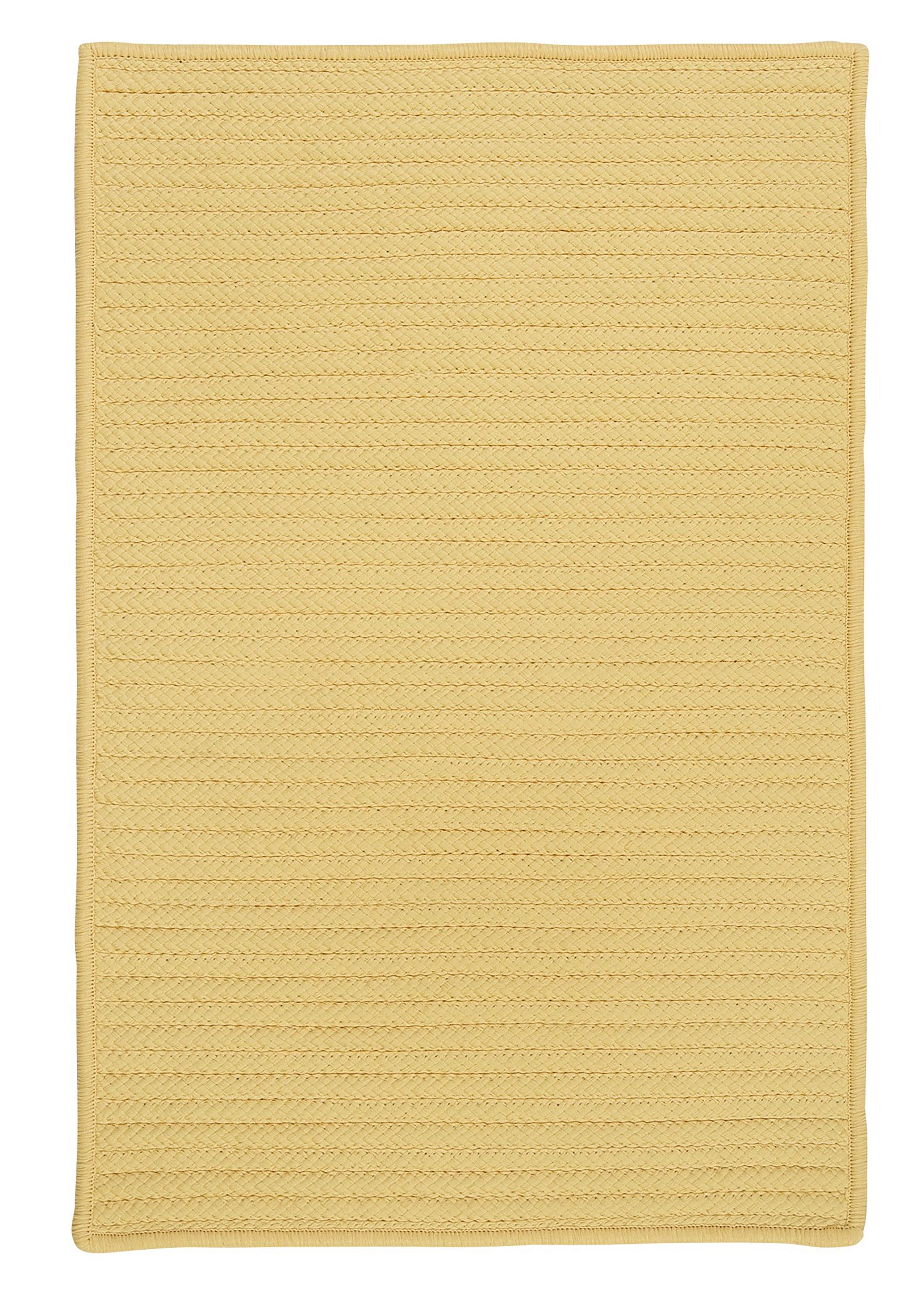 Colonial Mills Simply Home Solid H833 Pale Banana Area Rug
