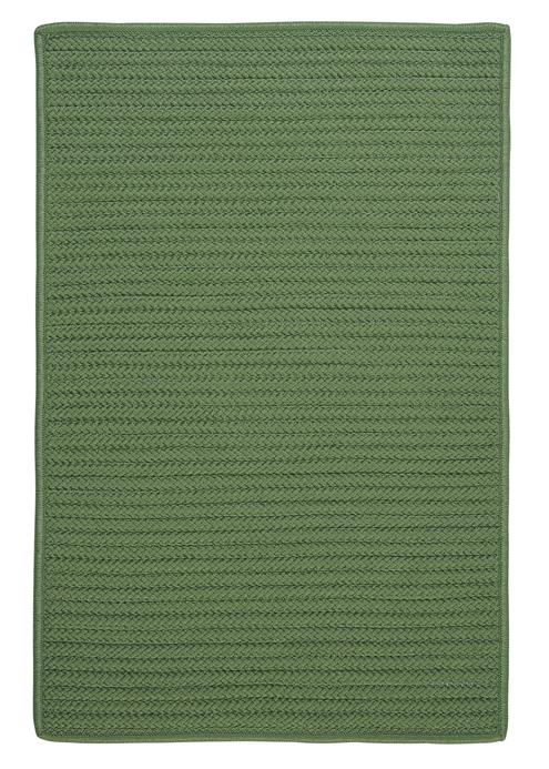 Colonial Mills Simply Home Solid H123 Moss Green Area Rug