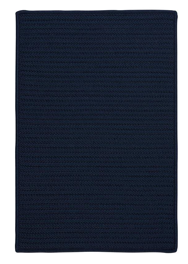 Colonial Mills Simply Home Solid H561 Navy Area Rug