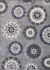 Concord Global Trading Charlotte 4816 Oasis Gray Area Rug