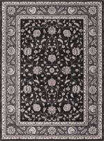 Concord Global Trading Kashan 2823 Mahal Anthracite Area Rug