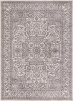 Concord Global Trading Kashan 2832 Heriz Ivory Area Rug