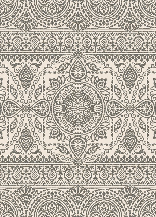 Casa 8635 Aubusson Grey Area Rug By Concord Global Trading