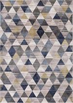 Concord Global Trading Olympus 5236 Diamond Blue Area Rug