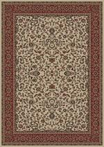 Concord Global Trading Persian Classics 2022 Kashan Ivory Area Rug