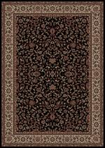 Concord Global Trading Persian Classics 2023 Kashan Black Area Rug