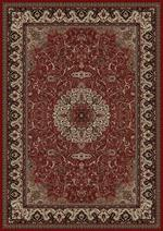 Concord Global Trading Persian Classics 2030 Isfahan Red Area Rug