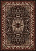 Concord Global Trading Persian Classics 2033 Isfahan Black Area Rug