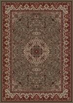 Concord Global Trading Persian Classics 2035 Isfahan Green Area Rug