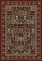 Concord Global Trading Persian Classics 2040 Panel Red Area Rug