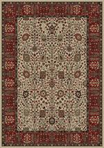 Concord Global Trading Persian Classics 2052 Vase Ivory Area Rug