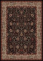 Concord Global Trading Persian Classics 2053 Vase Black Area Rug