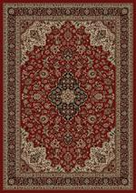 Concord Global Trading Persian Classics 2080 Medallion Kashan Red Area Rug