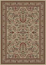Concord Global Trading Persian Classics 2092 Sarouk Ivory Area Rug