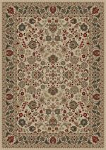 Concord Global Trading Persian Classics 2102 Mahal Ivory Area Rug