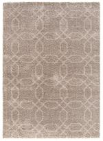 Concord Global Trading Plush 3521 Geo Beige Area Rug