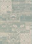 Couristan Afuera 5569/0803 Country Cottage Sea Mist/Ivory Area Rug