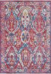 Couristan Bliss 7345/0653 Zagros Poppy Red Area Rug
