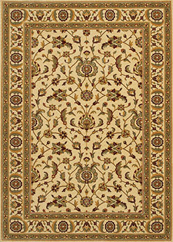 Couristan Royal Luxury 1323/0001 Linen 7'10