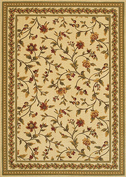 Couristan Royal Luxury 1327/0001 Linen 6'6