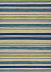 Couristan Cottages 5124/3298 Alki Ocean Shades Area Rug