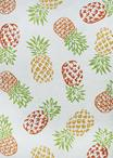 Couristan Covington 6166/0117 Pineapples Sand Area Rug