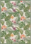 Couristan Dolce 7460/0007 Flowering Fern Ivory/Hunter Green Area Rug