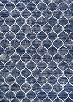 Couristan Easton 6345/5676 Dusk Blue Area Rug
