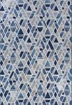 Couristan Easton 6989/9861 City Bricks Graffiti Blue Area Rug