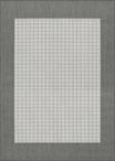 Couristan Recife 1005/3012 Checkered Field Grey/White Area Rug