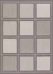 Couristan Recife 1043/3012 Summit Grey/White Area Rug