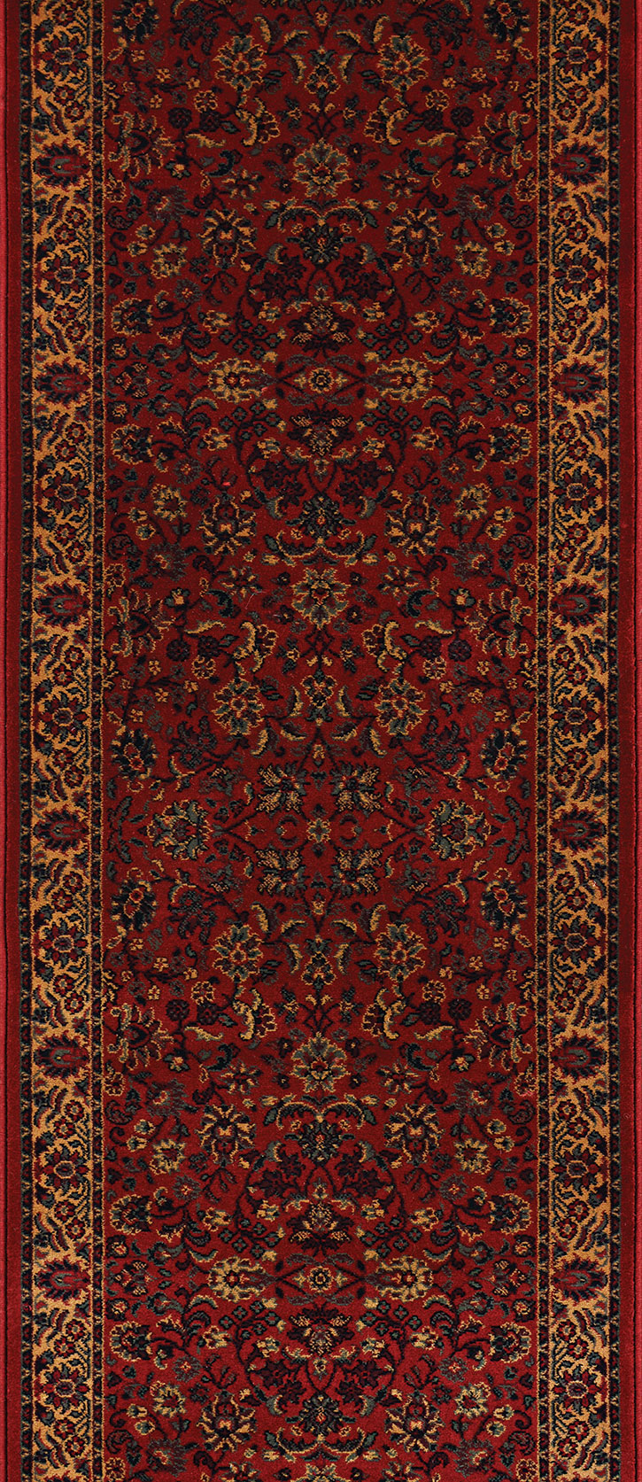 "Couristan Everest 3791-4872A Isfahan Crimson 2'2"" (26"") Wide Hall and Stair Runner"