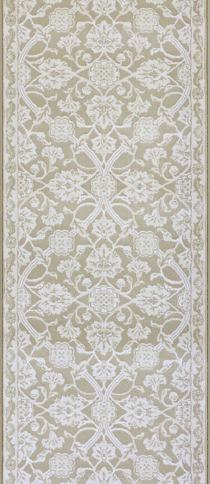 Couristan Vivar Cb13 B001a Champagne Hall And Stair Runner