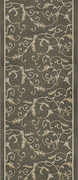 Couristan Everest 3318-4882A Royal Scroll Oriental Green 2'2