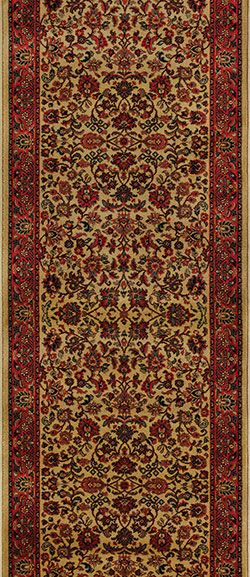 Couristan Everest 3791-4874A Isfahan Gold 2'2
