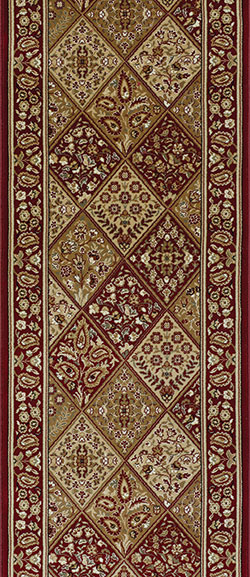 Couristan Persian Garden CB39-B002A Red 2'7