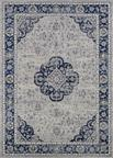 Couristan Sultan Treasures 5740/9686 Clover Medallion/Indigo Area Rug