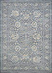 Couristan Sultan Treasures 7141/5656 Persian Isfahan/Slate Area Rug