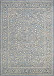 Couristan Sultan Treasures 7145/4646 Floral Yazd/Slate Blue Area Rug