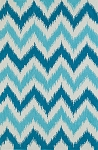 Dalyn Aloft AL13 Aqua 8'0 X 10'0 Area Rug - LAST ONE!