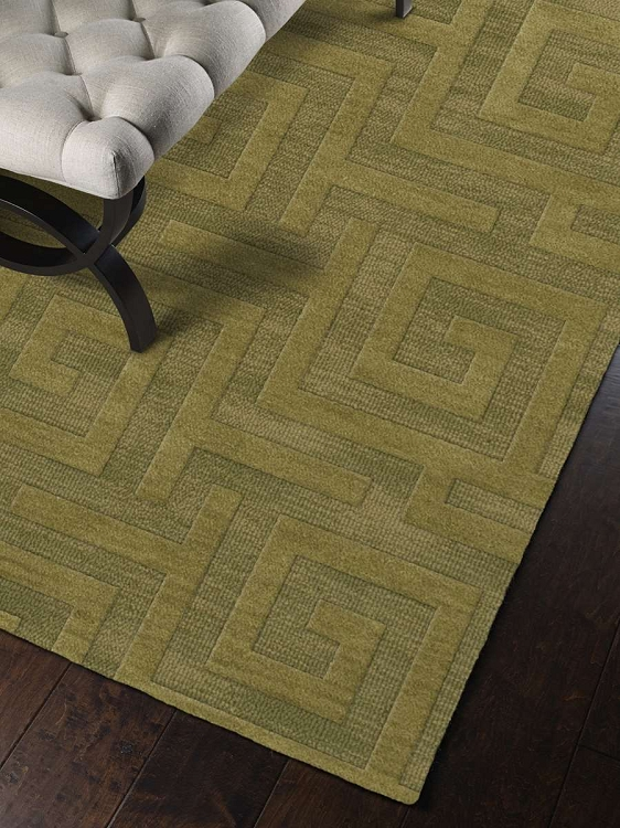 Dalyn Dover Custom Dv13 Pear Casual Area Rugs