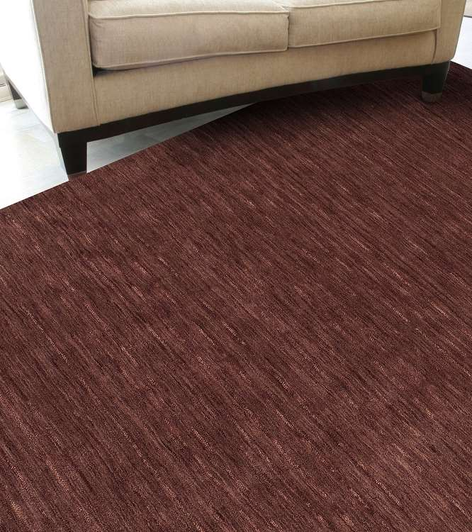 Dalyn Rafia Rf100 Plum Area Rug Transitional Area Rugs