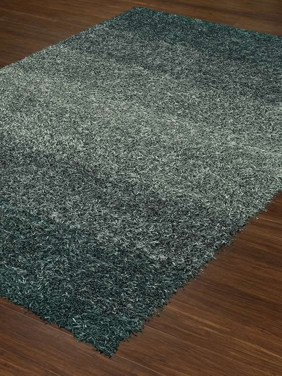 Dalyn Spectrum Sm100 Teal Area Rug Shag Area Rugs