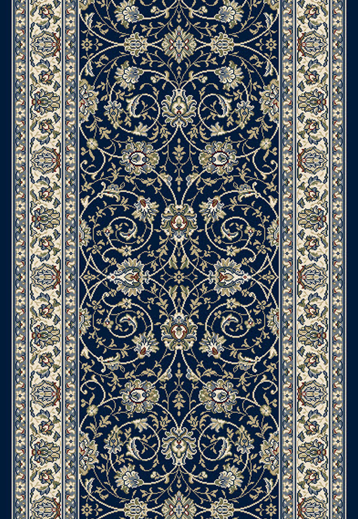 Dynamic Rugs Ancient Garden 57120 3464 Navy 2 2 Quot Wide Hall