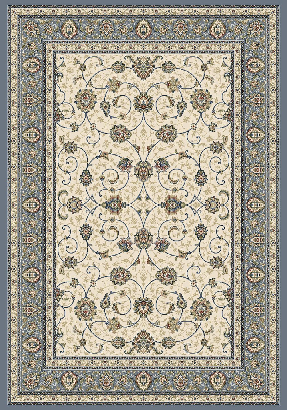 ancient garden beigelight blue area rug by dynamic rugs