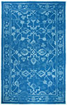 Dynamic Rugs Avalon 88802-591 Dk Blue Lt Blue Area Rug