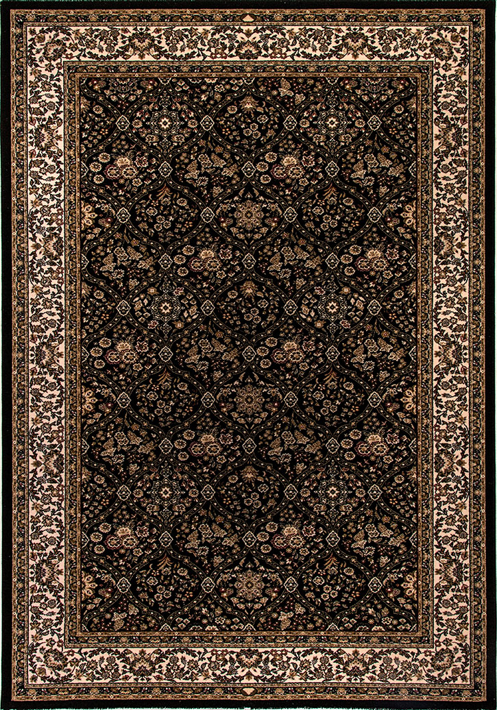 Dynamic Rug Brilliant 7211 090 Black Area Rug Carpetmart Com
