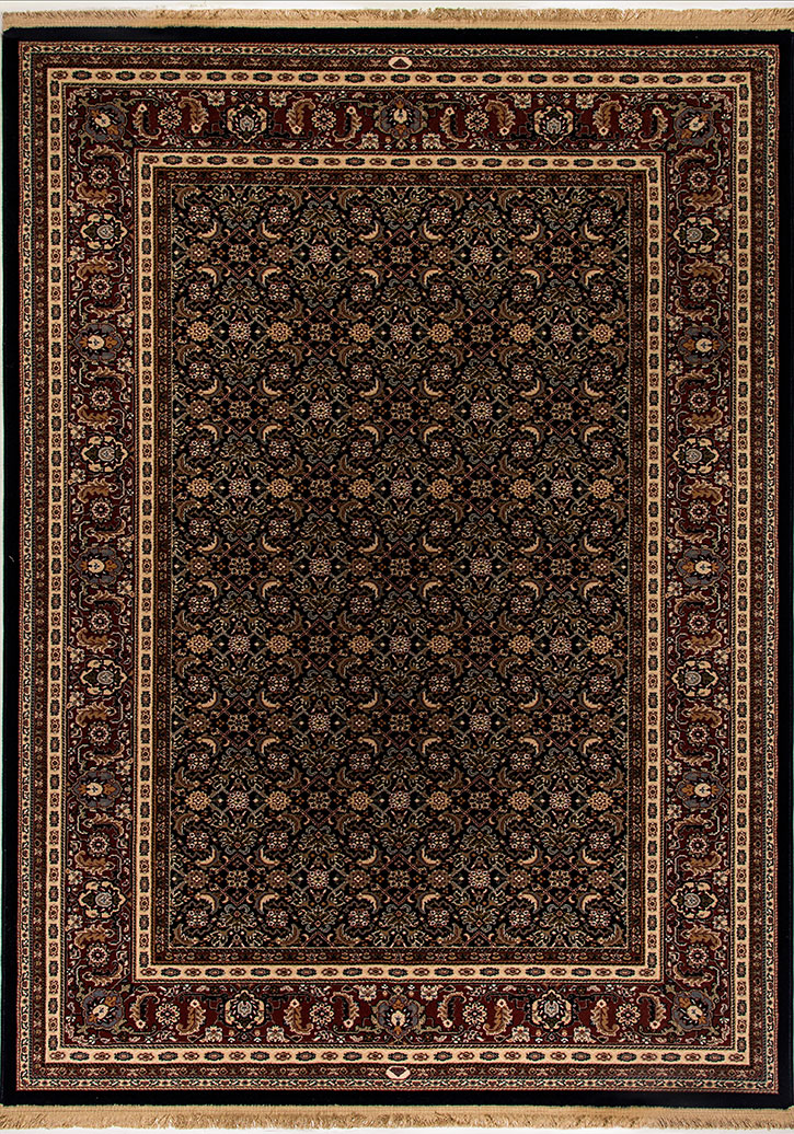 Dynamic Rug Brilliant 72240 520 Navy Area Rug Carpetmart Com