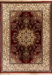 Dynamic Rugs Brilliant 7201-330 Red Area Rug