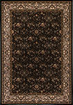 Dynamic Rugs Brilliant 7211-090 Black Area Rug